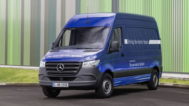 2020 Mercedes Benz Esprinter All Electric Cargo Van Launches
