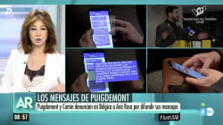 Ana Rosa se defiende de la demanda de Puigdemont con un rotundo