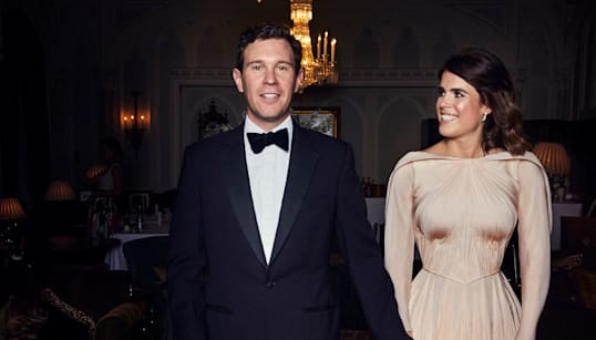 Princess Eugenie Wowed In Her 'English Rose' Wedding Reception