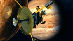 L'image prise par cette sonde 20 ans plus tôt a permis de repérer de l'eau sur une lune de