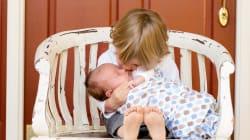 Los hermanos se enseñan empatía desde muy