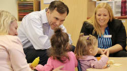 Child Care Groups Criticize Liberal Photo-Ops On Benefit