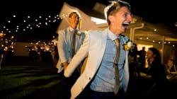 Les images touchantes des premiers mariages gays en