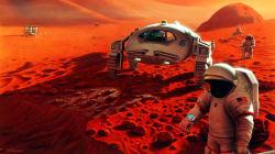 Vous rêvez d'aller sur Mars? Votre estomac pourrait ne pas le