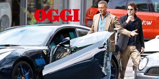 Lapo al volante: 30 mila euro di danni alla Ferrari (da fermo)
