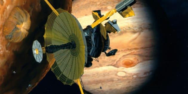 Une image prise par une sonde 20 ans plus tôt a permis des geysers d'eau sur cette lune de Jupiter
