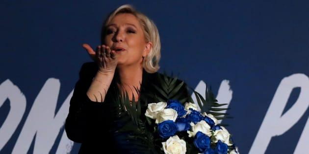 Marine Le Pen est un danger pour les droits des femmes en France. REUTERS/Christian Hartmann
