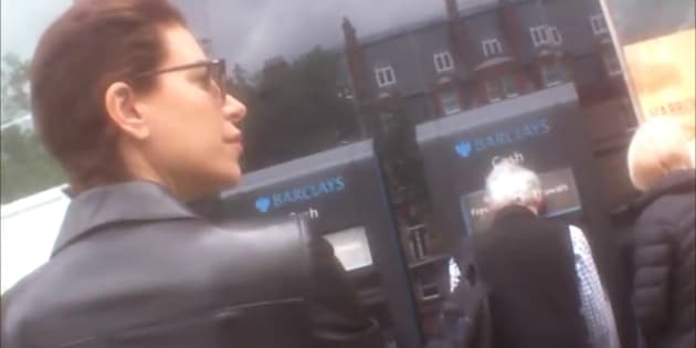 XALAPA, VERACRUZ, 29MAYO2018.- Miguel Ángel Yunes Linares, gobernador del estado, presentó un video e imágenes donde presuntamente acredita el paradero de Karime Macías Tubilla, esposa del exgobernador Javier Duarte en Londres.