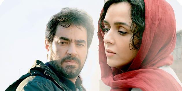 Shahab Hosseini and Taraneh Alidoosti in a still from Asghar Farhadi's 'The Salesman'