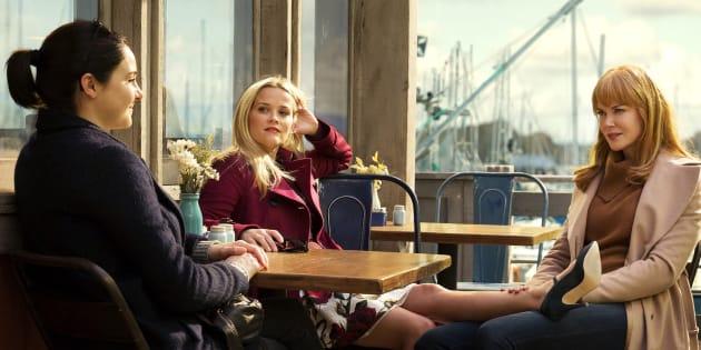 A série Big Little Lies aborda os dilemas e sofrimentos de mulheres.