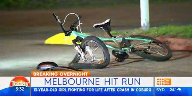 Teenage cyclist critically injured after Melbourne hit run