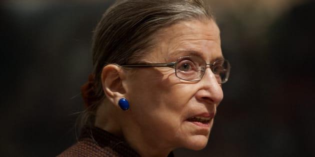 La juge Ruth Bader Ginsberg de la Cour suprême des États-Unis.
