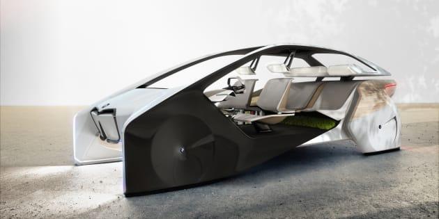 Le concept car présenté par BMW.