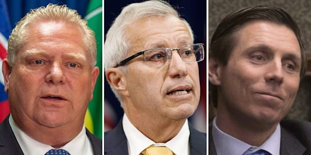 """Ontario Premier Doug Ford dismisses allegations of sexual misconduct against the finance minister Vic Fedeli as a """"disgusting smear campaign.''"""