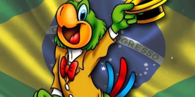 Zé Carioca é a personagem do jeitinho brasileiro.