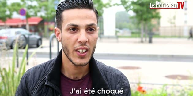 Aymen Latrous, en una entrevista con Le Parisien TV.