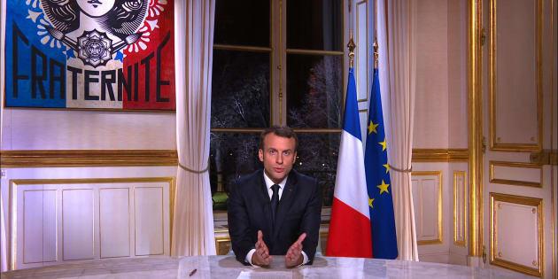 Les voeux de Macron, discours le plus suivi depuis son élection