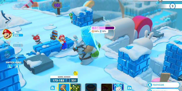 Le jeu vidéo le plus fun de la rentrée réunit Mario et les Lapins Crétins