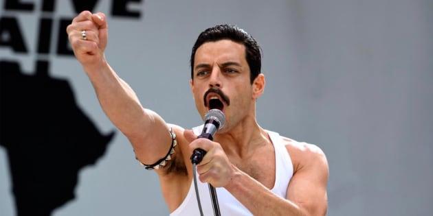 Ramy Malek dá vida ao icônico Freddie Mercury em 'Bohemian Rhapsody'.