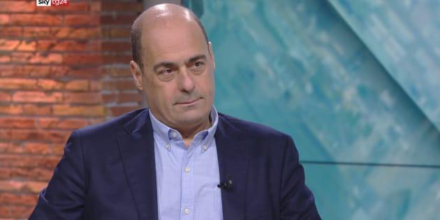 Nicola Zingaretti intervistato da Maria Latella a Sky TG24