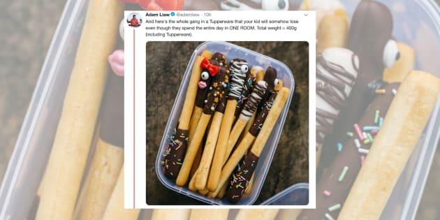 Adam Liaw's snack hack is genius and hilarious.