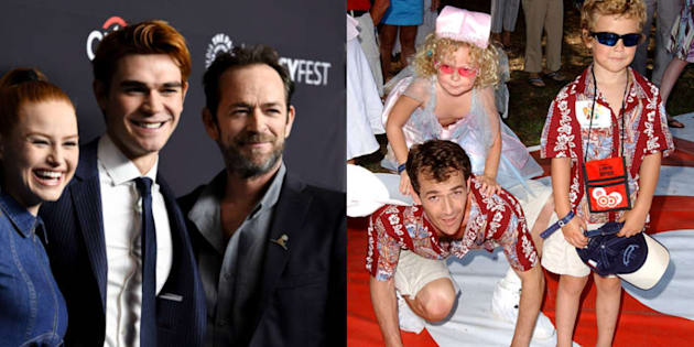 Jack Perry Sophie Perry: Luke Perry Went From Brooding Rebel To Iconic Dad, On And