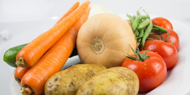 Des légumes issus de l'agriculture biologique.
