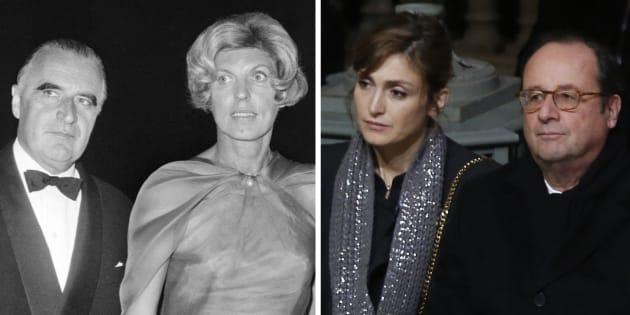 De Pompidou et Hollande à Nicolas Hulot, la réaction face à la rumeur a bien changé.