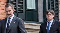 Puigdemont acusa al rey Felipe VI de avalar a