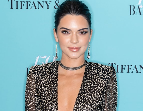 Kendall Jenner posts totally topless photo