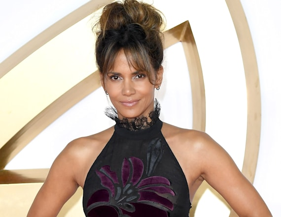 Halle Berry stuns in gorgeous, sheer gown
