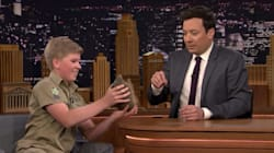 Robert Irwin Continues His Dad's Legacy On 'The Tonight