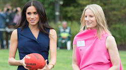 Meghan Markle Looked Flawless While Playing Australian Football In