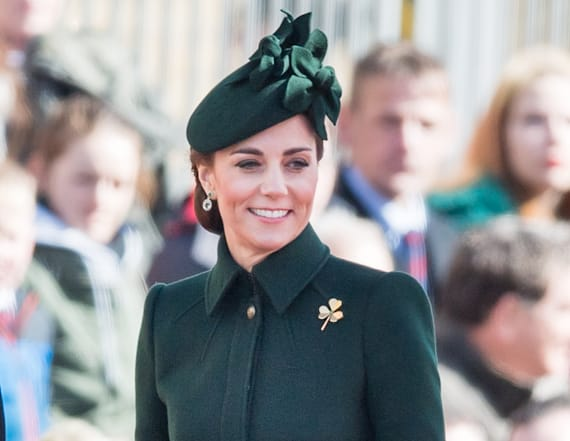 Kate Middleton wears emerald for St. Patrick's Day