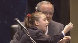 RTVE recuerda con humor a Aya, la protagonista del sorteo de Navidad de