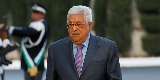 Le président palestinien, Mahmoud Abbas.