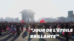 Les Nord-Coréens ont dansé en l'honneur de Kim Jong