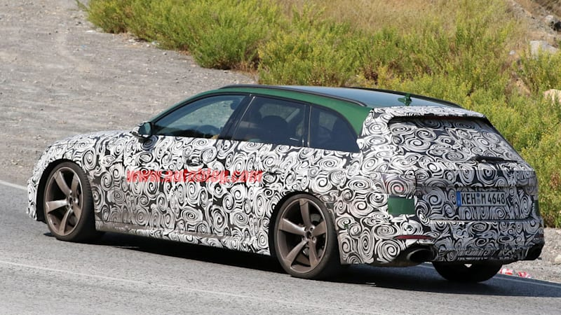 Audi RS Avant Wraps Are About To Come Off This Hp Wagon - Audi rs4