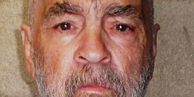 Charles Manson à la prison de Californie le 18 mars 2009.