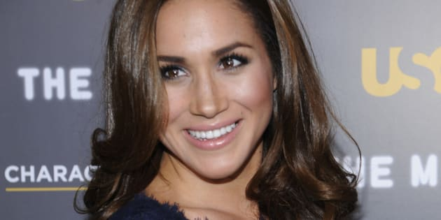 Meghan Markle attends the USA Network and The Moth's Characters Unite Event at the Pacific Design Center in West Hollywood, February 15, 2012. (REUTERS/Phil McCarten)