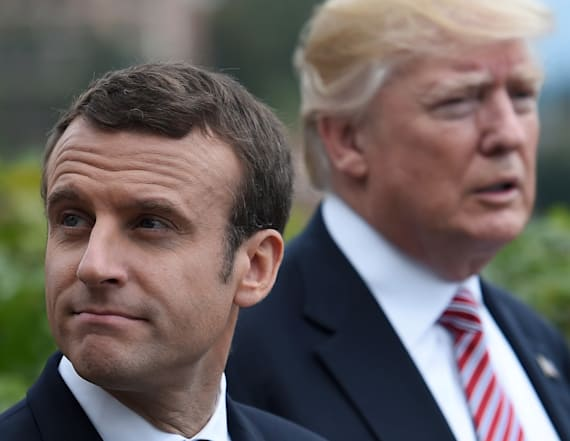 Macron says handshake with Trump 'wasn't innocent'