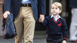 Prince George entre à l'école et la Toile ne se peut