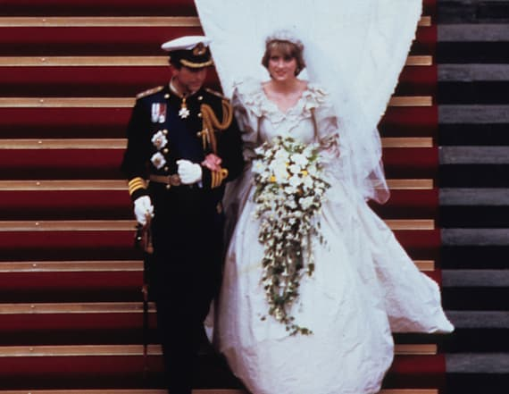 Princess Diana had a second wedding dress