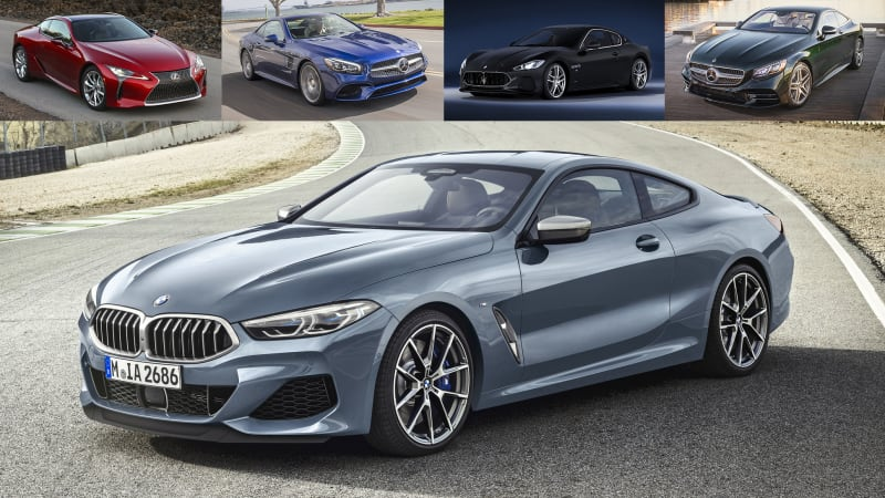 2019 Bmw M850i Xdrive Vs Luxury Grand Touring Coupes Autoblog