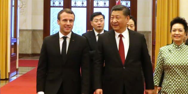 En Chine, Emmanuel Macron et les entreprises françaises ne décrochent que quelques contrats.