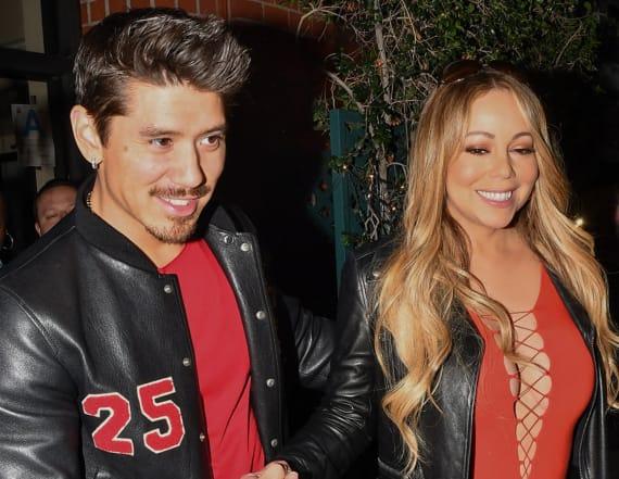 Mariah Carey flaunts slimmer figure in sexy look