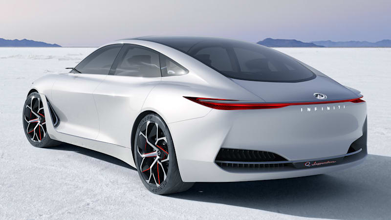 Infiniti Q Inspiration luxury sedan concept