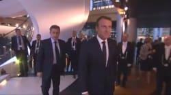 Macron et Sarkozy ont assisté ensemble à l'hommage rendu à Helmut