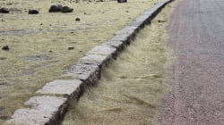 À Hawaï, il pleut des fils de verre après l'éruption du volcan