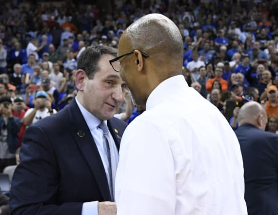 Duke's Coach K: UCF was 'deserving of winning'